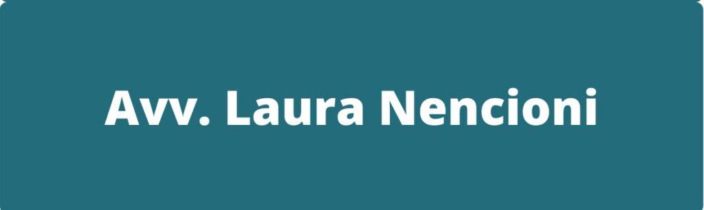 Avv. Laura Nencioni