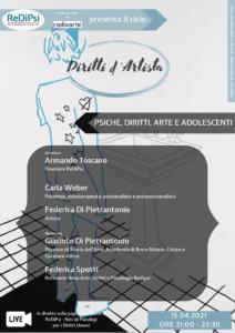 Diritti d'artista: psiche, diritti, arte e adolescenza.