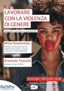 webinar: lavorare con la violenza di genere