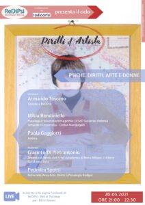 diritti d'artista: donne, arte, psiche e diritti